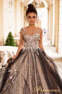 Вечернее платье 775069 UP. Цвет чёрный. Вид 3