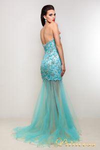 Вечернее платье PY9525. Цвет серебро. Вид 2