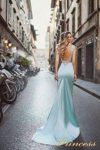 Вечернее платье 8001. Цвет пастельный. Вид 2