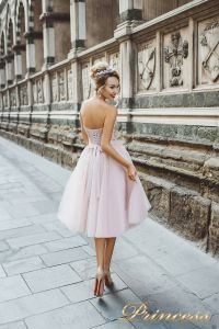 Вечернее платье 8003. Цвет розовый. Вид 2
