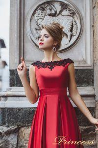 Вечернее платье 8004. Цвет красный. Вид 3