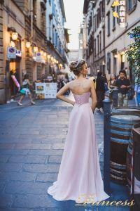 Вечернее платье 8004. Цвет розовый. Вид 2