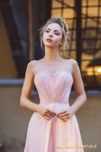 Вечернее платье 8004. Цвет розовый. Вид 3