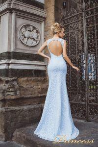 Вечернее платье 8013. Цвет голубой. Вид 2