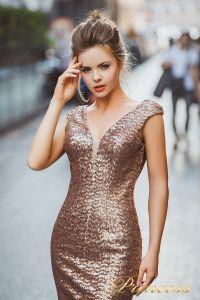 Вечернее платье 8015. Цвет цветное . Вид 3