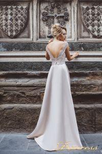 Вечернее платье 8020. Цвет бежевый. Вид 3