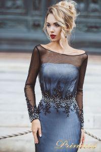 Вечернее платье 8021. Цвет чёрный. Вид 3
