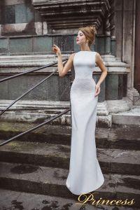 Вечернее платье 8025. Цвет пастельный. Вид 1