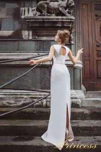 Вечернее платье 8025. Цвет пастельный. Вид 2