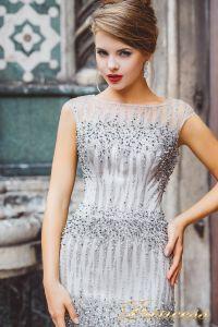 Вечернее платье 8028. Цвет сиреневый. Вид 3