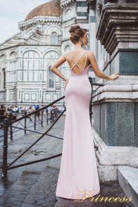 Вечернее платье 8035. Цвет пастель. Вид 2