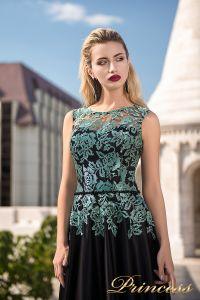Вечернее платье 7037. Цвет чёрный. Вид 3