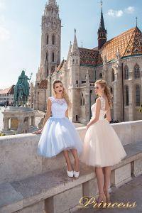 Вечернее платье 8042. Цвет пастельный. Вид 1