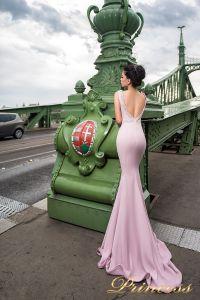 Вечернее платье 7044. Цвет пастель. Вид 2