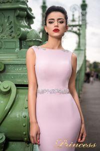 Вечернее платье 7044. Цвет пастель. Вид 3