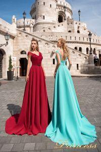 Вечернее платье 7050. Цвет marsala. Вид 1