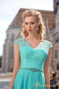 Вечернее платье 7050. Цвет marsala. Вид 3