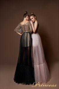 Вечернее платье 8062. Цвет чёрный. Вид 2