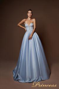 Вечернее платье 9066. Цвет сиреневый. Вид 3