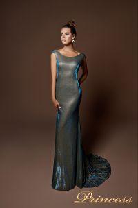 Вечернее платье 9068. Цвет золото. Вид 2
