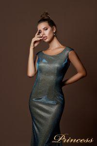 Вечернее платье 9068. Цвет золото. Вид 3