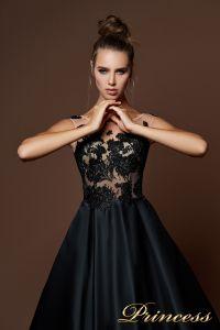 Вечернее платье 9083. Цвет чёрный. Вид 3