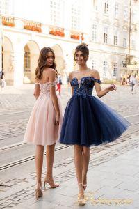 Вечернее платье 15091. Цвет navy. Вид 2
