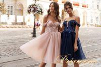 Вечернее платье 15091. Цвет navy. Вид 4