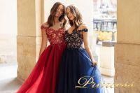 Вечернее платье 15095. Цвет navy. Вид 4