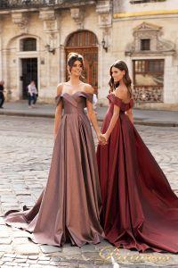 Вечернее платье 15099. Цвет розовый. Вид 1