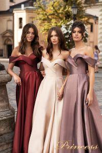 Вечернее платье 15099. Цвет розовый. Вид 4
