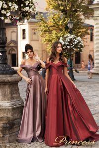 Вечернее платье 15099. Цвет розовый. Вид 2