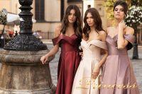 Вечернее платье 15099. Цвет розовый. Вид 3