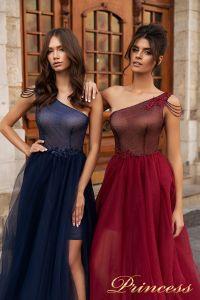 Вечернее платье 15102. Цвет marsala. Вид 3
