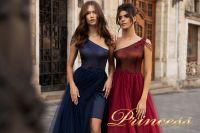 Вечернее платье 15102. Цвет marsala. Вид 4