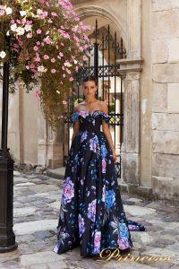 Вечернее платье 15103. Цвет розовый. Вид 2