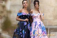 Вечернее платье 15103. Цвет розовый. Вид 4