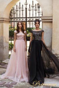 Вечернее платье 15107. Цвет чёрный. Вид 1
