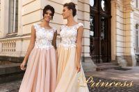 Вечернее платье 15108. Цвет розовый. Вид 4