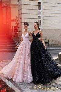 Вечернее платье 15112. Цвет розовый. Вид 1