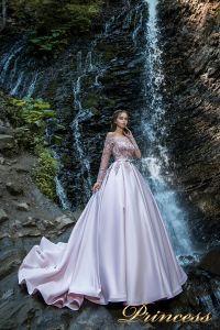 Вечернее платье 29007. Цвет пастель. Вид 1