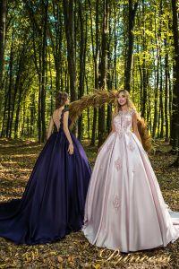 Вечернее платье 29037. Цвет айвори. Вид 1