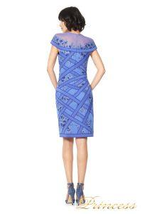 Вечернее платье TADASHI SHOJI AGD16191M. Цвет синий. Вид 2
