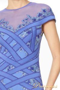 Вечернее платье TADASHI SHOJI AGD16191M. Цвет синий. Вид 3