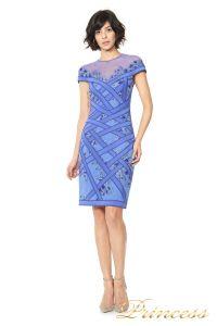Вечернее платье TADASHI SHOJI AGD16191M. Цвет синий. Вид 1