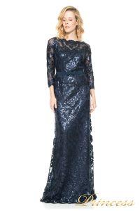 Вечернее платье Tadashi Shoji  ALT1224L. Цвет синий. Вид 1