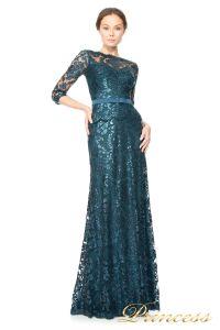 Вечернее платье Tadashi Shoji  ALT1224L. Цвет синий. Вид 4