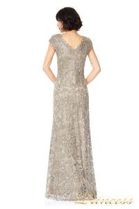 Вечернее платье Tadashi ALX1191LZ. Цвет серый. Вид 2