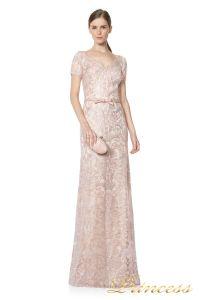 Вечернее платье ALX16372L. Цвет розовый. Вид 2
