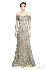 Вечернее платье ART16367L. Цвет серый. Вид 2